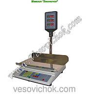 Весы торговые Промприлад ВТА-60/15-5-Ш (15 кг)
