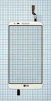 Тачскрин сенсорное стекло для LG D802 G2 Optimus white
