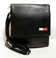"""Мужская сумка """"Tomy Hilfiger"""" А 09 глянец, фото 1"""