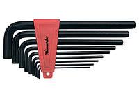 Набор ключей имбусовых HEX, 2-12 мм, CrV, 9 шт, удлиненные Matrix 11227