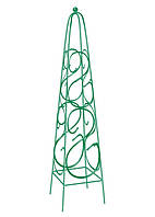 Пирамида садовая декоративная для вьющихся растений, 112,5 х 23 см, квадратная Palisad 69126