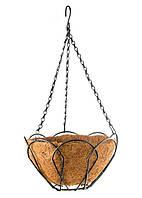 Подвесное кашпо, 25 см, с кокосовой корзиной Palisad 69001