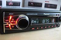 USB автомобільна магнітола Pioneer JD-341, фото 1