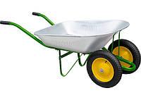 Тачка садовая, два колеса, грузоподъемность 170 кг, объем 78 л Palisad 68922