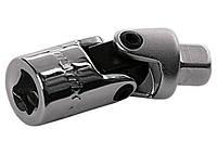 Шарнир карданный с квадратом 1/4, CrV, полированный хром Matrix Master 13993