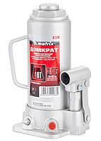 Домкрат гидравлический бутылочный, 10 т, h подъема 230–460 мм// MATRIX MASTER 50725