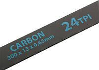 Полотна для ножовки по металлу, 300 мм, 24TPI, Carbon, 2 шт. Gross 77719