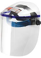 Щиток защитный, 425х220 мм, пластик, защита для лица, цельный корпус Matrix 89126