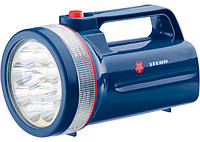 Фонарь поисковый светодиодный, пластиковый корпус, 30 часов непрерывной работы, 12Led, 4хLR20, Stern