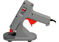 Клеевой пистолет с регулировкой температуры, 100W - 220V, с подставкой Matrix 930105