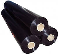 Пленка политиленовая, черная 1,5м*200мк*50м,, код 71-433
