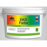 Краска для внутренних работ TOTUS ECO FARBE 3,5 кг. , код 1771