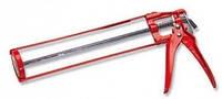 Пистолет для герметика скелетный красный (шт.), код 55-001