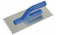 Терка из нержавейки, ручка пластиковая 130*280 мм Z/10*10 // ПОЛЬША (шт.), код 80-310