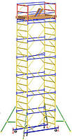Вышка тура Атлант 1,2х2м комплект (10+1), рабочая высота 14,6м