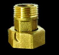 Гайки+штуцера к водомерам 1/2(пара) усиленные К1316 PROFI