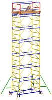Вышка тура Атлант, размер настила 1,2х2м, комплект (14+1), рабочая высота 19,4м
