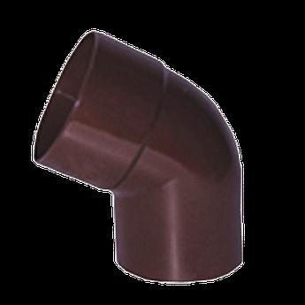 Коліно для водостічної труби ду90*72 wavin rosa