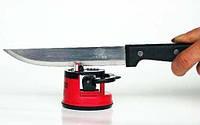 Точилка для ножів з присоскою ножеточка Knife Sharpener, фото 1