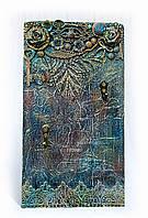 Ключница настенная, вешалка для ключей, декор прихожей, ключница ручная работа
