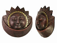 Маска Сурья и Чандра / Солнце и Месяц