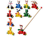 Деревянная игрушка Каталка MD 0024 Woody
