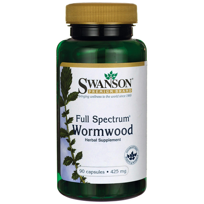 Полынь Горькая / Wormwood, 425 мг 90 капсул