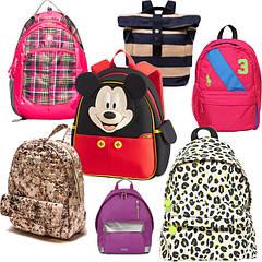 Шкільні рюкзаки, ранці, сумки для взуття, пенали