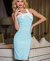 Летнее платье-футляр | Нори jd ментол