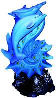 Статуэтка дельфин цветная в ассортименте 100х160х60