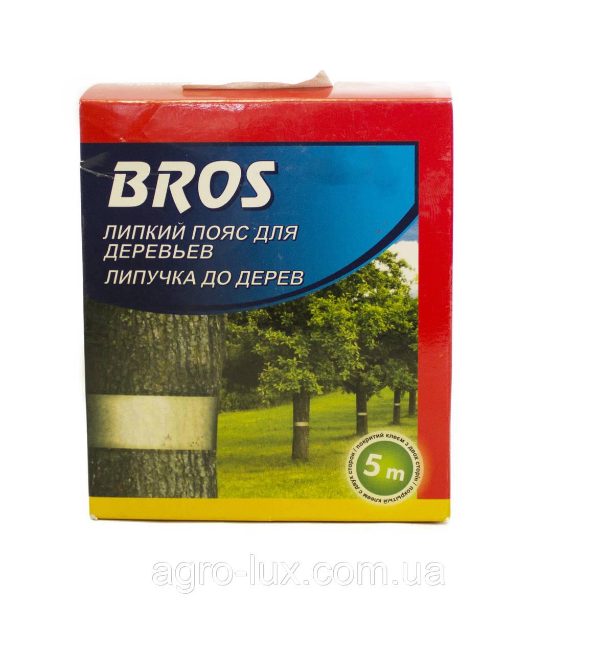 Липкий пояс для деревьев 5 м Bros