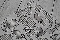 Лоскут ткани №20  размером 40*40 см