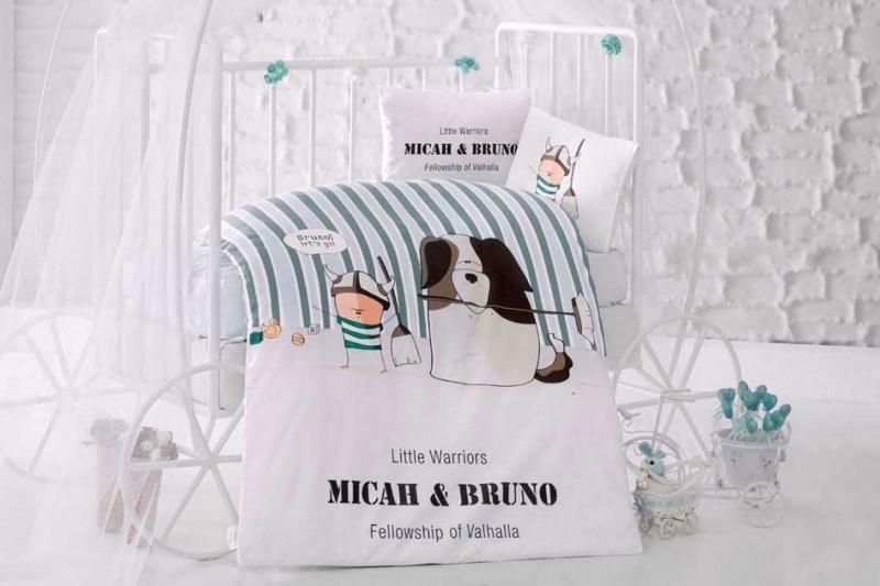 Комплект детского постельного белья Bruno, Aran Clasy