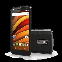 Противоударная защитная пленка на экран для Motorola Moto X Force