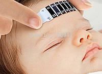 Термометр-полоска на лоб для младенцев