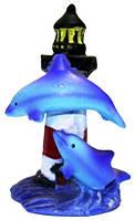 Статуэтка дельфин цветные в ассортименте 40х55х40