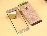 Защитное стекло для iPhone 5/5S 2in1 Diamond 0.3mm