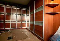 Откидная шкаф-кровать встроенная в угловую стенку, фото 1