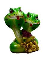 Статуэтка две змеи 32408