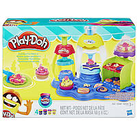 Пластилин Плей До А0318 Play-Doh Sweet Shoppe Frosting Fun Bakery, фото 1