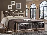 """Ліжко Domini  """"Міранда"""" 1600 * 2000 м (крем)"""