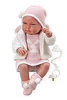 Llorens - Кукла Тина, новорожденная девочка, 43 см (Испания)