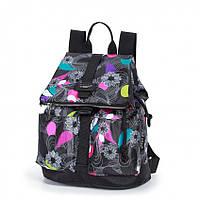 Модный молодежный рюкзак 2017 с цветами, фото 1