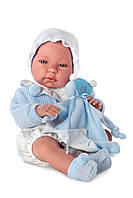 Llorens - Кукла Нико, новорожденный мальчик, 38 см (Испания)
