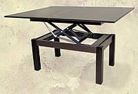 Стол трансформер журнально-обеденный - Венге