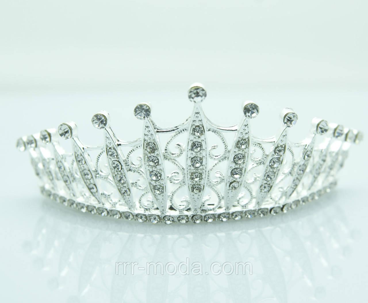 Королевская диадема для невест. Свадебные украшения для волос оптом. 33 -  Бижутерия оптом « 38e191f3251