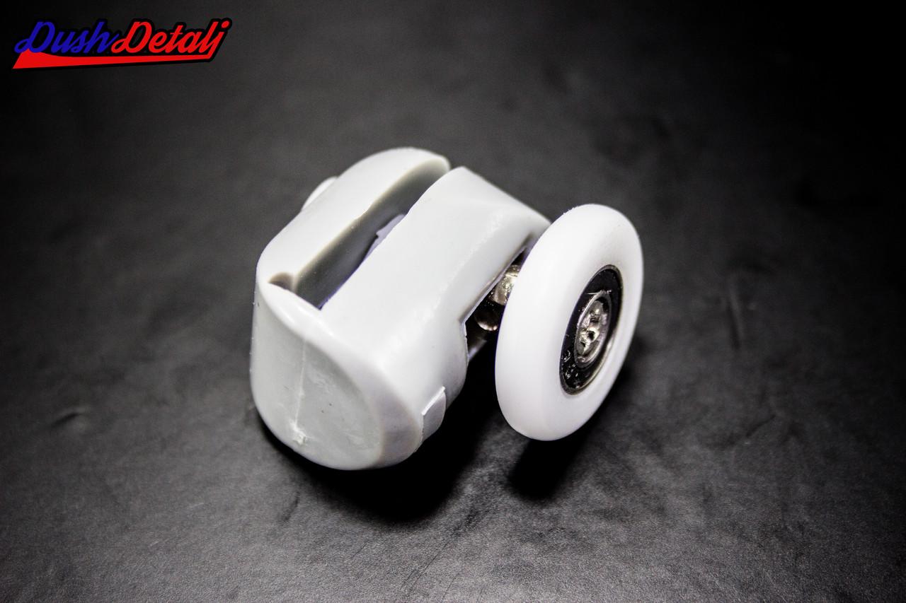 Ролик для душевой кабины верхний серый ( В-43 В ) с диаметром колеса от 19 до 28 мм. 22 мм