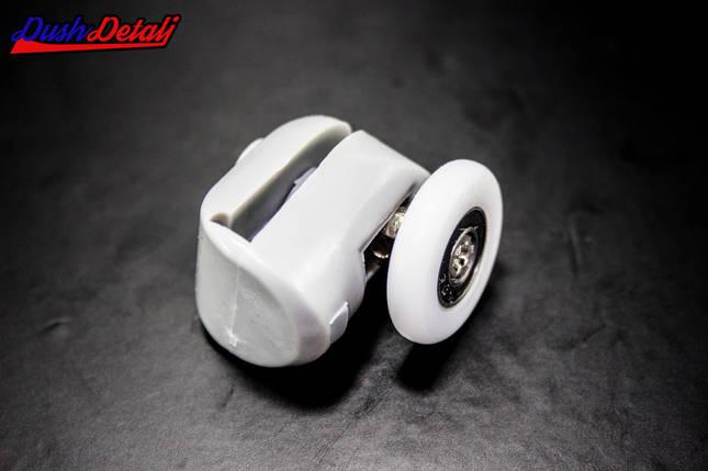 Ролик для душевой кабины верхний серый ( В-43 В ) с диаметром колеса от 19 до 28 мм. 22 мм, фото 2