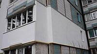 Утепление балконов и лоджий снаружи