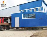 Промышленный жаротрубный стальной твердотопливный котел BS-SF УЕ10 мощностью 1250квт, 1,25МВТ, фото 2